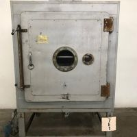 Stainless steel plate vacuum oven