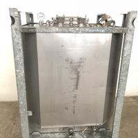 Container inox 316 UCON 1000 litres double enveloppe