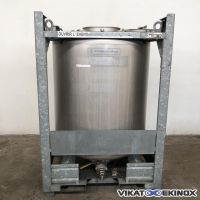 Container inox 316L UCON 1100 litres