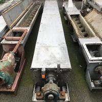 Through conveyor S/S 304 Ø 300 Length 4300 mm