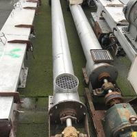 Vis tube inox 316 Ø 210 long. 4000 mm