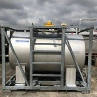 S/S horizontal container 3000 litres