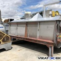 Stainless steel ribbon blender 5200 litres