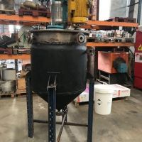Jacketed tank with agitator approx.300L