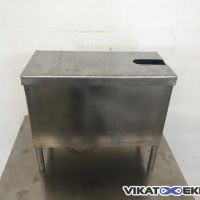 Stainless steel rectangular tank