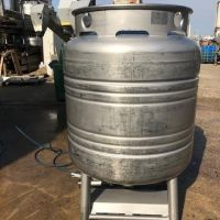 Food stainless steel container 800 litres