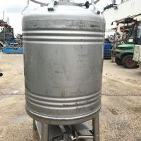 Food stainless steel container 1000 litres