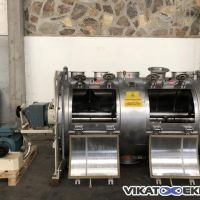 Mélangeur à socs de charrue 2400 litres MIX type MXC2400