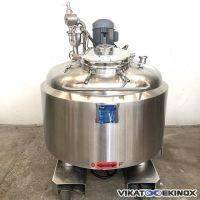 Fondoir inox agité 300 litres SOLERI
