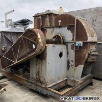 Steel centrifuge fan