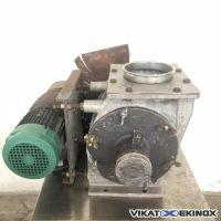 Aluminium rotary valve