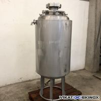 PACKO double jacket stainless steel tank 300 litres