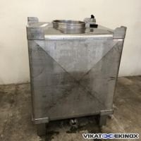 Stainless steel container 1135 litres