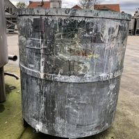 Stainless steel tank 1295 litres total