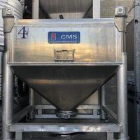 Container aluminium CMS 700 litres type RCEV28