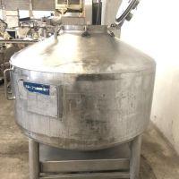 BSI container AISI 316L 800 litres