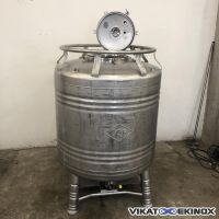 GALLAY stainless steel container 1000 litres