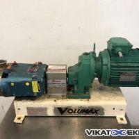 Pompe volumétrique à lobes WAUKESHA type 18 inox
