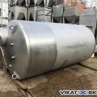 Stainless steel 316 tank 6000 litres