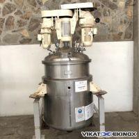 Mélangeur homogénéisateur 1200 litres sous vide PELLEGRINI