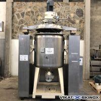 Mélangeur homogénéisateur sous vide 1200 litres STARO