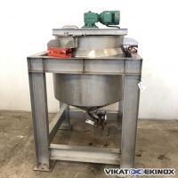 Cuve mélangeuse inox 400 litres