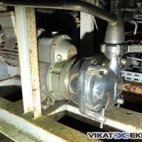 Pompe volumétrique inox Mouvex type S4C AL VI