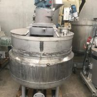 S/S Mixing tank with double jacket approx. 500L