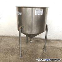 Cuve inox 120 litres