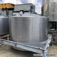 Cuve inox agitée 5000 litres