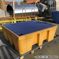 Plastic retention tray 1000 litres