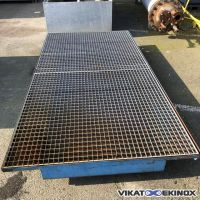 Steel retention tray  250 litres