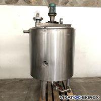 Cuve inox agitée PIERRE GUERIN 700 litres