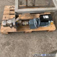 WAUKESHA 22TC2-F rotary lobe pump