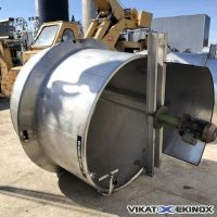 S/S mixing tank 2200 litres