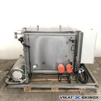 S/S heated wash tank