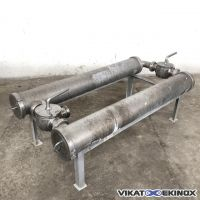 Stainless steel filtration unit