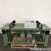 Table vibrante Netter Vibration type VT 8/20