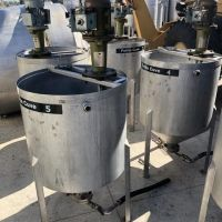 S/S mixing tank 300 litres