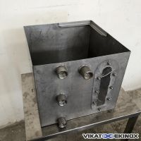 Stainless steel tray 54 litres
