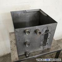 Bac inox 54 litres