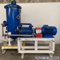 SIHI vacuum pump with separator 500 litres