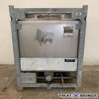 Container inox 1000L BLEFA