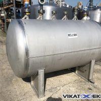 Cuve inox 316L de 2485 litres