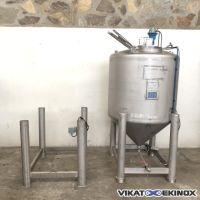 Cuve inox agitée 1150 litres