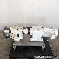 WAUKESHA Cherry-Burrell 130U2 rotary lobe pump