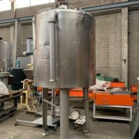 Agitated S/S tank 1500 litres