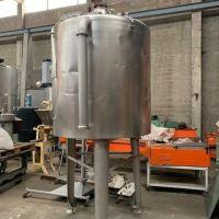 Cuve inox agitée 1500 litres
