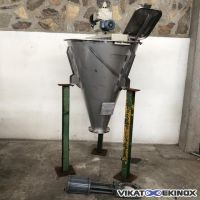 NAUTAMIX HOSOKAWA conical screw mixer 300 litres