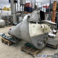 1200 litres NAUTAMIX HOSOKAWA type 12-MFC-43 screw conical mixer